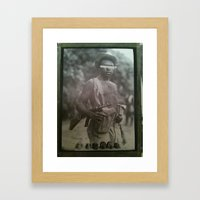 Guerilla Clone B-Side Framed Art Print