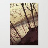 Our Stillness Canvas Print