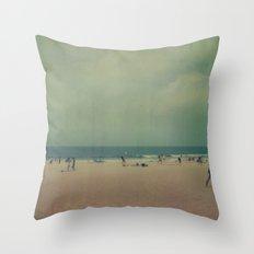 Newport Beach Throw Pillow