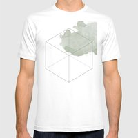 platonic earth Mens Fitted Tee White SMALL
