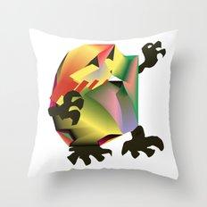 Mesh Monster Throw Pillow
