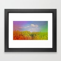 Magical Spring Framed Art Print