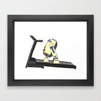 R2D2 color Framed Art Print
