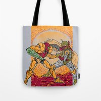 Bounty Hunting Tote Bag