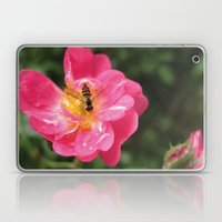 Flower Bee Laptop & iPad Skin