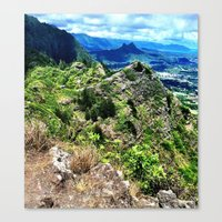 Canvas Print featuring Ridge High by atwice