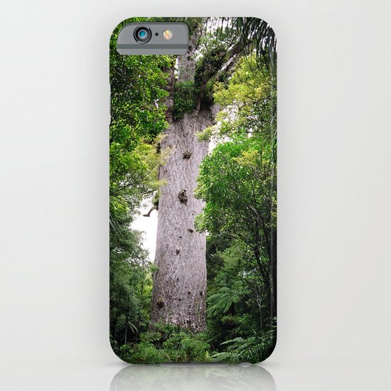 The World's Oldest Wood, Ancient Kauri iPhone & iPod Case
