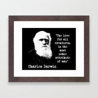 Darwin Framed Art Print