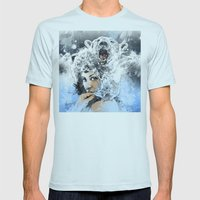 Arctic Tears Mens Fitted Tee Light Blue SMALL