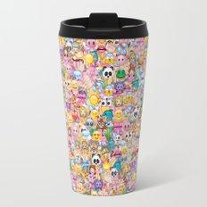 emoji / emoticons Travel Mug
