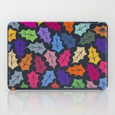 Colorful leaves III iPad Case