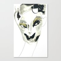 A Faint Smile Canvas Print