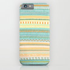 Mad Scribbles (coloured version) Slim Case iPhone 6s