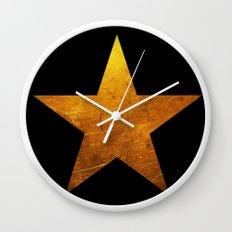 Hamilton Star Wall Clock