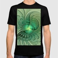 The Abstract Action, Fra… Mens Fitted Tee Black SMALL