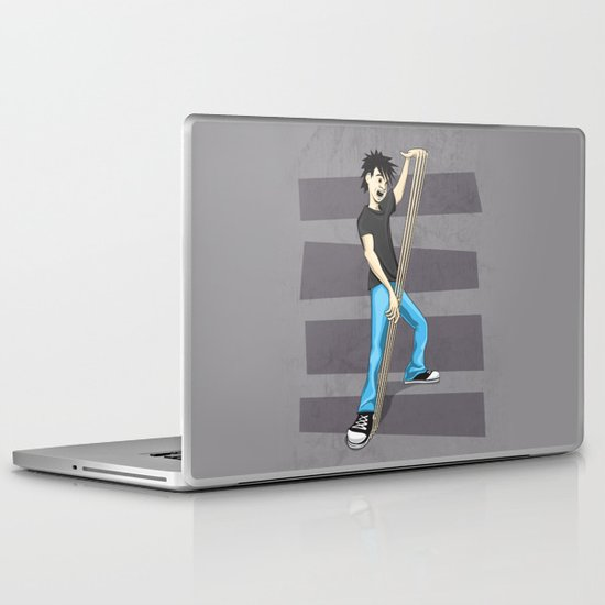 """They call him """"Fingers"""" Laptop & iPad Skin"""