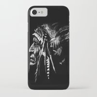 native american iPhone & iPod Cases featuring Native American by Sandy Elizabeth