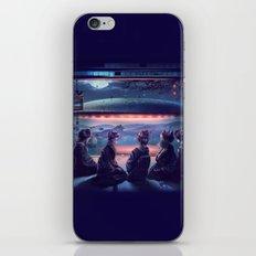 Night Guest  iPhone & iPod Skin