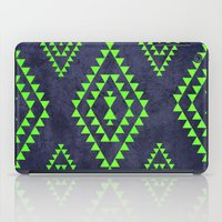 Navy & Lime Tribal Inspi… iPad Case