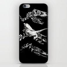 Jurassic Bloom - Black V… iPhone & iPod Skin