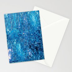 Broken and blue Stationery Cards
