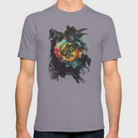 Circle Of Life Surreal S… Mens Fitted Tee Slate SMALL