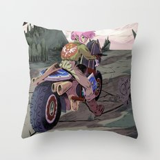 Hyrule Road Warrior Throw Pillow