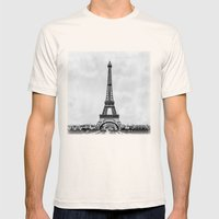 Eiffel Tower, Paris Fran… Mens Fitted Tee Natural SMALL