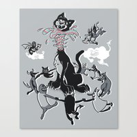 DeCATpitated Canvas Print
