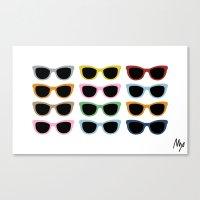 Sunglasses #4 Canvas Print