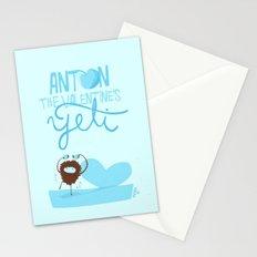 Anton, the Valentine´s Yeti Stationery Cards