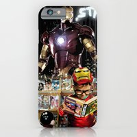 iPhone & iPod Case featuring Iron Man: Dreaming Big by SRB Productions