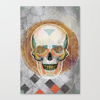 Another Skull Canvas Print