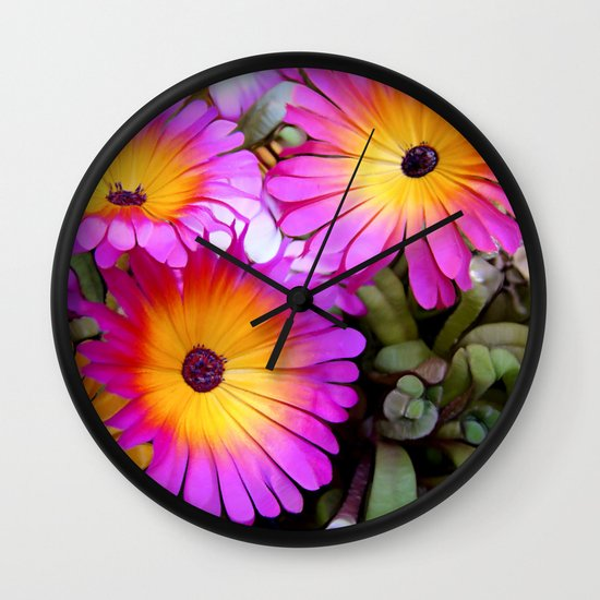 FlowerPower Wall Clock