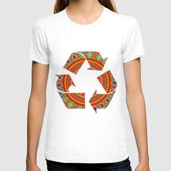 Mandala Aztec Pattern T-shirt