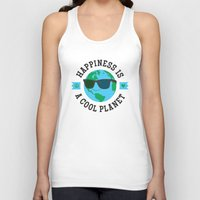Happiness Is A Cool Plan… Unisex Tank Top