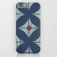 iPhone & iPod Case featuring Repeat with Red Berries by Ellie And Ada