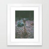 Mini - The fragility of nature Framed Art Print