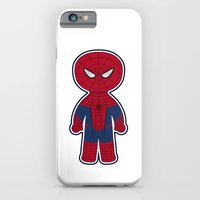 iPhone & iPod Case featuring Chibi Spider-man by mydeardear