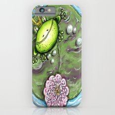 Frog Prince on His Lily Pad iPhone 6 Slim Case