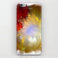 Autumn Sunflower iPhone & iPod Skin