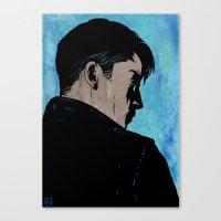 Suspicious Mind Canvas Print