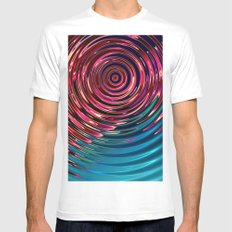 Ripple Mens Fitted Tee White SMALL