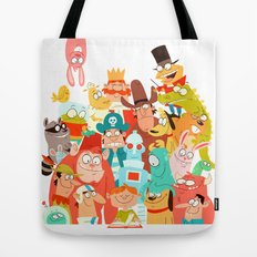 Storybook Gang Tote Bag
