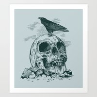 Raven's Cliff Art Print