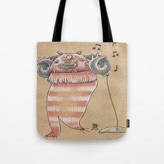 MUSIC MONSTER Tote Bag