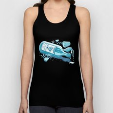 The Late Party Bird Gets the Worm Unisex Tank Top