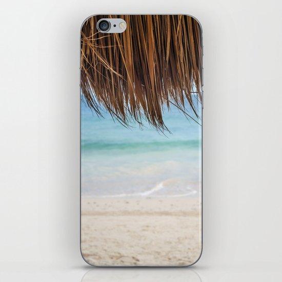 Beach Palapa iPhone & iPod Skin