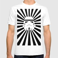 Storm Trooper Mens Fitted Tee White SMALL
