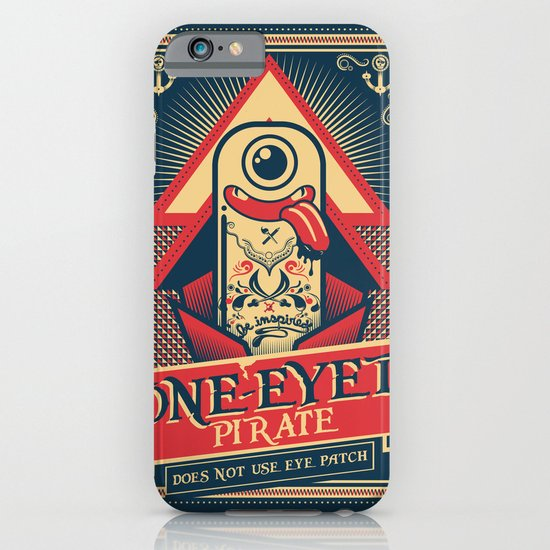 One-eyed Pirate iPhone & iPod Case